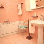 Bagno privato camera Magnolia con vasca jacuzzi