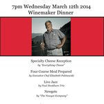Road 13 Winemaker Dinner - Wednesday, March 12th, 2014
