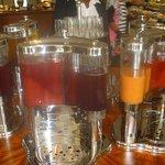 Multiple fruit juices