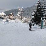 Ski de randonnée depuis la maison