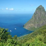 The infamous Pitons!