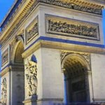Arc de Triomphe, just 12 minutes walk from Hotel Niel