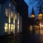 B & B Am Meerturm by Night