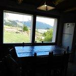Vista desde la cocina-comedor