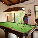 Indoor games at Aahana