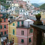 Cinque Terre from above