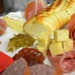 Charcuterie Plate with fresh, local meats and cheeses