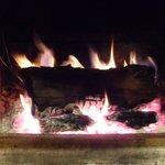 bien se restaurer au près du feu