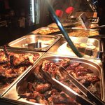 Jamaican buffet and Indian cuisine