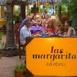 Open air dining at its best, Las Margaritas!