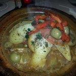 tagine de poulet aux olives et citrons confits