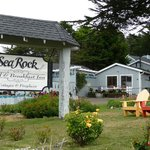 Sea Rock Inn was a delightful place to stay!