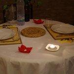 Notre table pour le diner