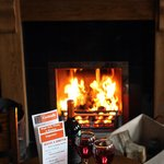 Relax by 1 of our open fires