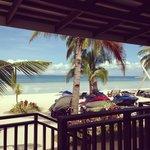 My beachfront view