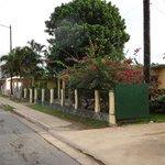 The quiet street of Villa Liana y Lily