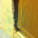 Möglig dörr till badrum