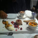 dessert platter for two. :)