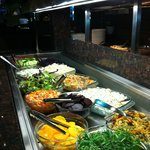 Salad Bar... It's got good stuff on it....yummy!