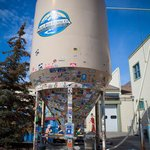 Our endlessly stickered Silo