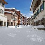 Ski through village, ski in-ski out access