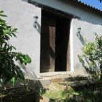 Puerta original de la Casa de las García