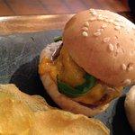Mini hamburguesa de wagyu