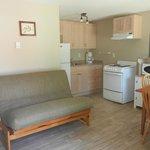 Cottage Kitchen/Living Area