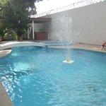 La piscina limpia