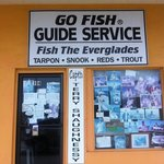 Go Fish Guides Office located in Everglades City, Florida