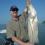 Snook caught in back country of the 10,000 Islands, Everglades, Florida