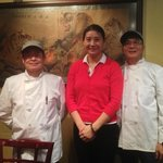 Owner, Jade, and Chefs