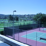 Complimentary tennis courts for our guests