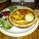 Luron hongrois (goulash de veau) - délicieux!
