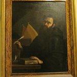 Italian Artist Mattia Preti - Portrait of St. Augustine of Hippo.