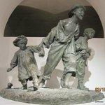 """Sculpture """"Les Gavroches"""" by Antonio Sciortino (bronze)"""
