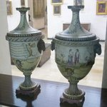 Artistic vases from the Museum's collection.