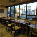 13階のカフェテリアコーナー