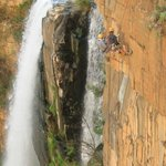Abseiling - Elands waterfall