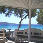Thalassa Mou, one of the best restaurants of Paros, on the most beautiful location.