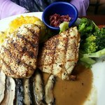 Fire-grilled Chicken and Portobello