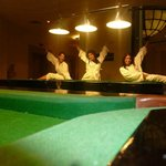pool tables (not free of charge)