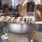 суп Келле пача готовят из обрези с головы барашка