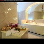 Diana bathroom on Vanity Fair