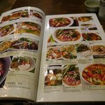 Colourful menu, many dishes, much more than before but quality is worser