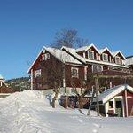 Winter at Bjørnefjorden Gjestetun