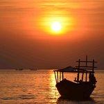 Sunset at the nearest beach...