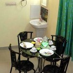 This is the Dining room for the guests