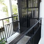 Room 210 entrance. From balcony.