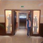 Лифт из лобби